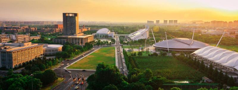 The gate of Zijingang Campus, Zhejiang University