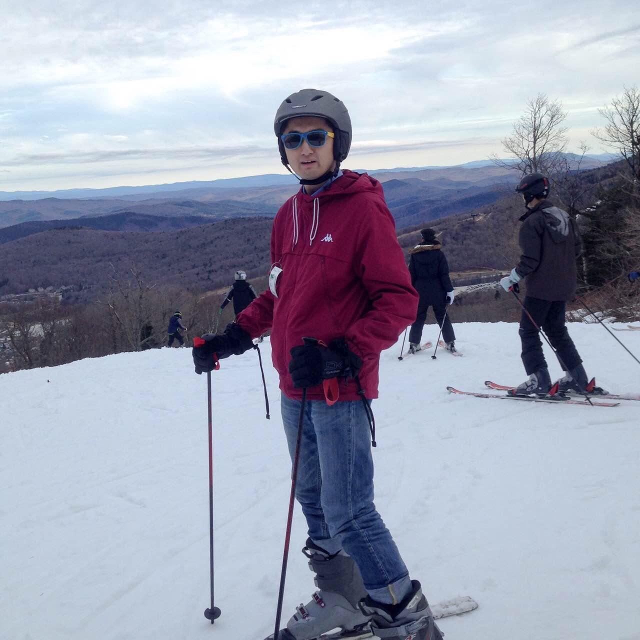 Ski at vermont