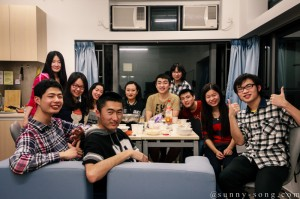 Dinner Party at Lung Wah College