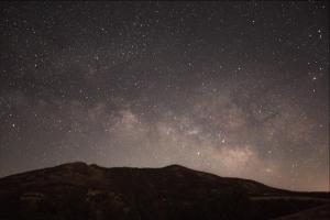 Milky Way at Pinnacles National Park, West Gate. 06/18/2018